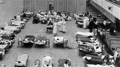 Les ravages de la grippe espagnole