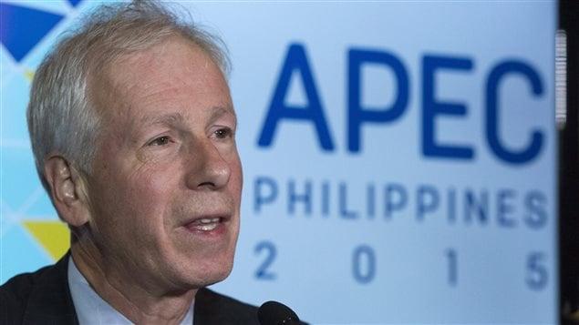 Stéphane Dion à l'APEC aux Philippines.