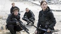 Une scène du film « Hunger Games : la révolte - dernière partie »