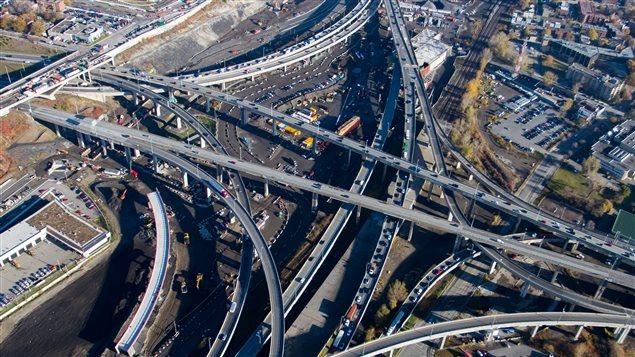 Le corridor ferroviaire deviendrait inutile dans le nouvel échangeur Turcot