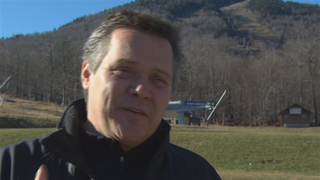 Luc Chapdelaine, directeur général de la station de ski du Mont-Orford