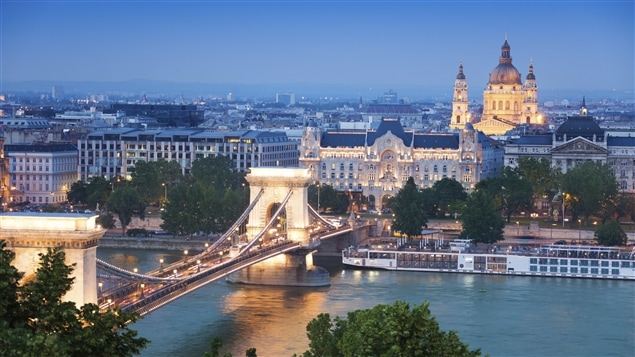 Une vue de Budapest, capitale de la Hongrie.