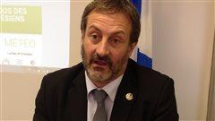 Le député de la circonscription de Bonaventure, Sylvain Roy