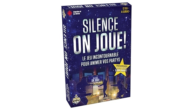 Jeu de table de Silence, on joue!