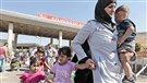 Nouvel exode de réfugiés syriens à la frontière turque