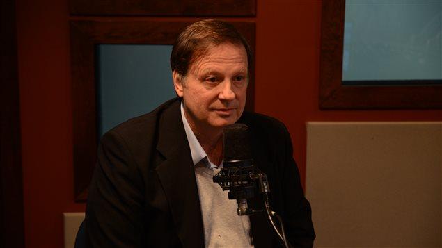 Marc Nantel, porte-parole du nouveau Regroupement Vigilance Mines d'Abitibi-Témiscamingue