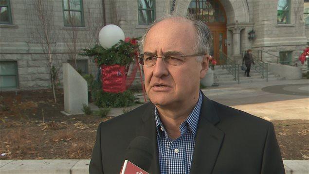 Le chef de l'opposition à l'hôtel de ville, Paul Shoiry, trouve «effrayant» que des usagers de Lauberivière soient laissés pour compte dans le dossier.