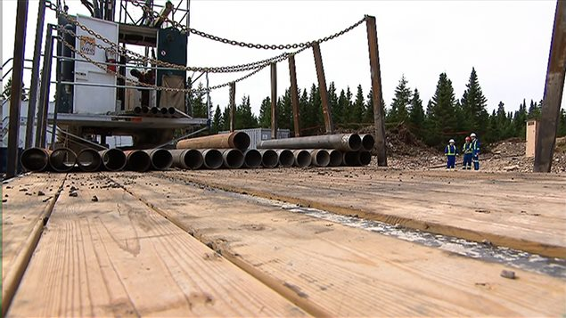 Exploration pétrolière à Anticosti
