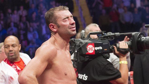 On pouvait lire la déception de Bute sur son visage après le combat.
