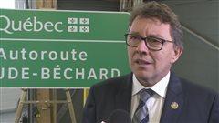 Le ministre responsable du Bas-Saint-Laurent, Jean D'Amour