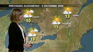 Chaleur et ouragan : votre bulletin météo de décembre 2050