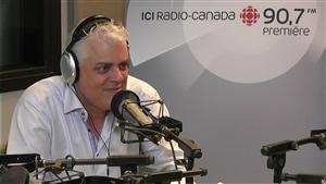 Philippe Marcoux est l'animateur de la nouvelle émission radiophonique Les matins d'ici. (2015-08-21)