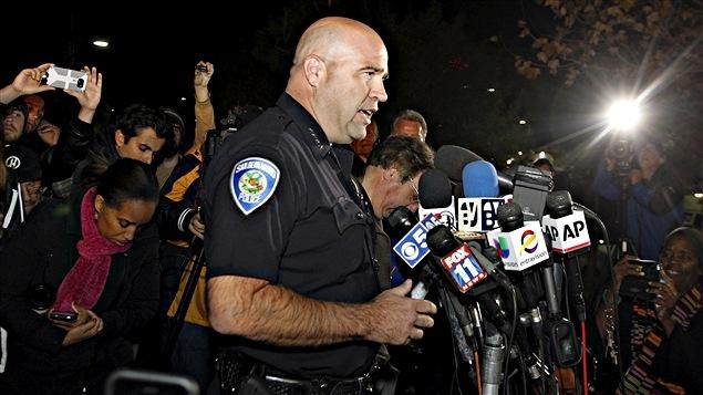 Le chef de police Jarrod Burguan