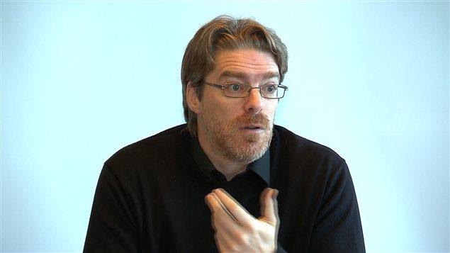 François Corriveau, directeur général de la Ville de Baie-Comeau.