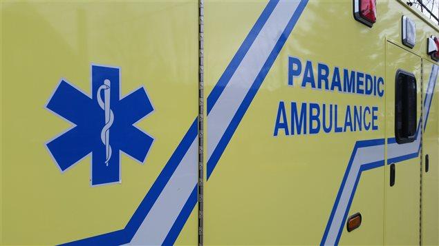 Une ambulance en Outaouais.