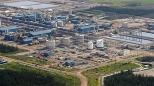 A Suncor oil sands facility is pictured near Fort McMurray, Alta., on July 10, 2012.