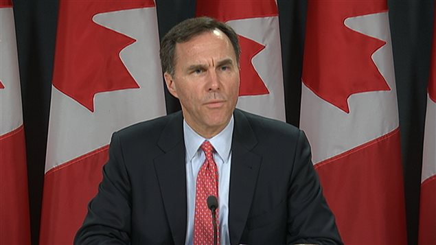 Bill Morneau, ministre canadien des Finances