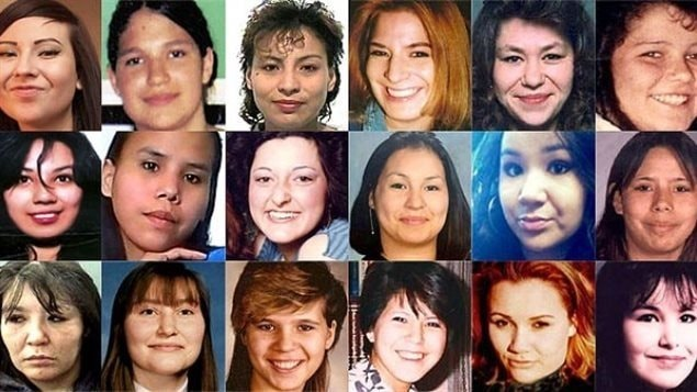 Des femmes autochtones assassinées ou disparues  Photo :  CBC/Radio-Canada