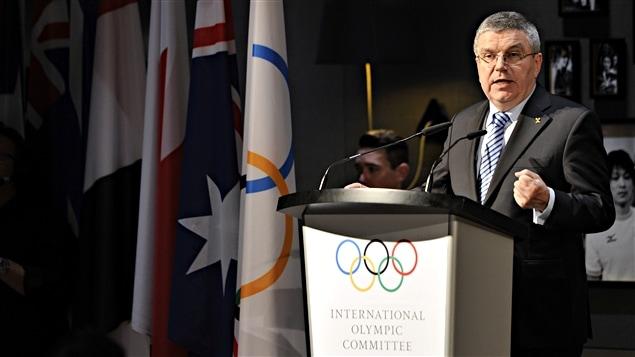 Thomas Bach, président du CIO