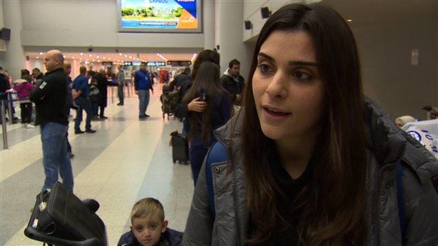 Hala Babik, réfugiée syrienne