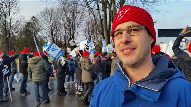 Claude Tardif, président du Syndicat de l'enseignement de l'Outaouais (2015-12-10)