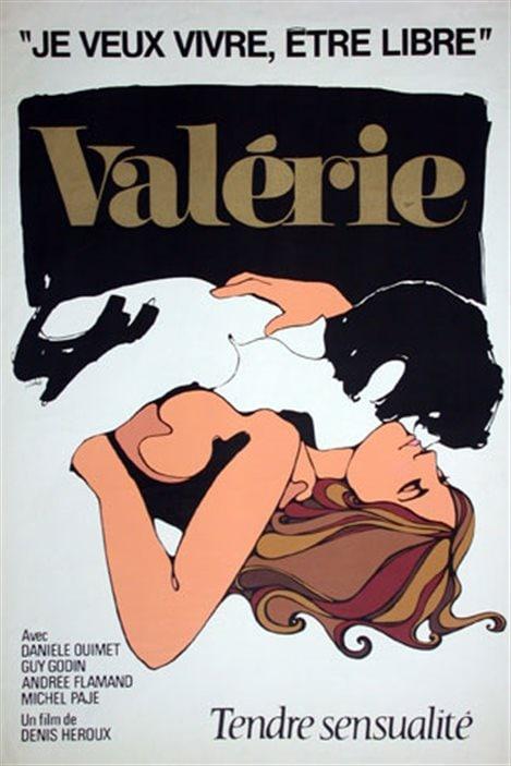 L'affiche du film «Valérie» de Denis Héroux