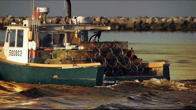homardier des îles de la Madeleine
