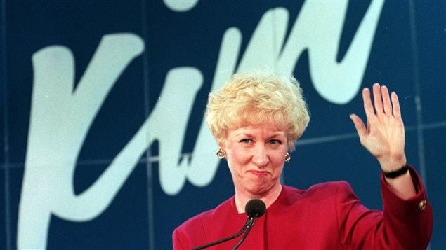 Kim campbell la premi re femme premi re ministre du - Fiche de poste femme de chambre du soir ...