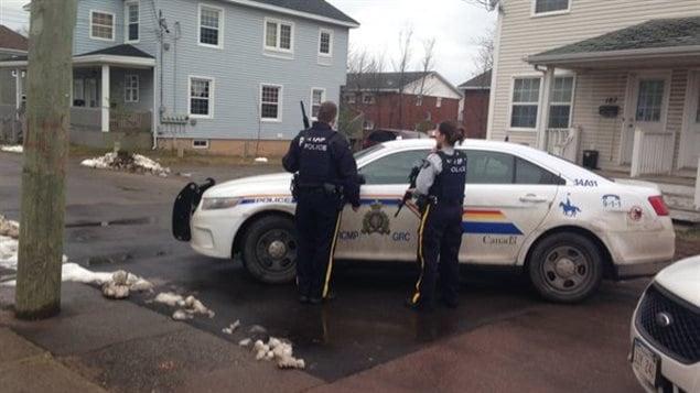 Opération policière à Moncton