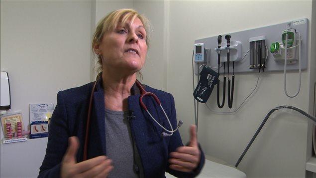 Sylvia Baribeau, médecin de famille