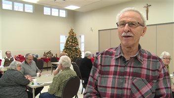 Noel Monette est le président de l'Âge d'or de la paroisse francophone de Saskatoon.