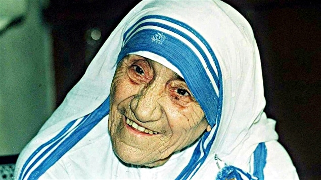 Mère Teresa, le 12 avril 1995