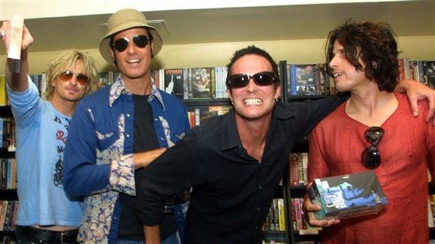 Le groupe Stone Temple Pilots en 2001