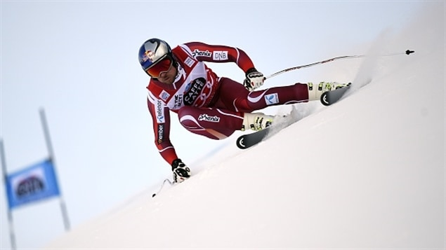 Aksel Lund Svindal remporte le Super G de Val Gardena.