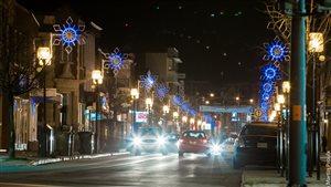 Le centre-ville de Victoriaville