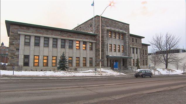 Le palais de justice de Rimouski