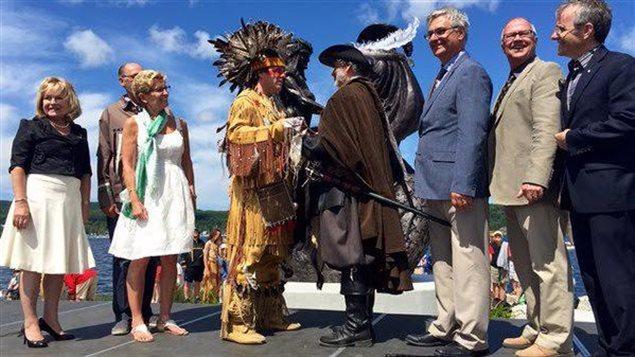 Les célébrations du 400e anniversaire de l'Ontario français à Penetanguishene.