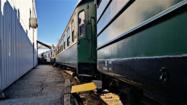 Le train vapeur pourrait se retrouver la ferraille ici radio - Wagon de train a vendre occasion ...
