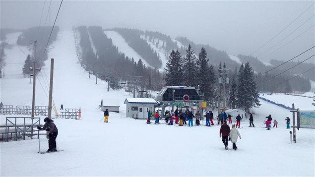 La station de ski Val d'Irène ce dimanche