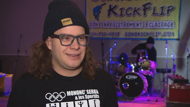 Steve Martin est président de l'organisme à but non lucratif One-Up, qui chapeaute l'Underground Fest à Rimouski