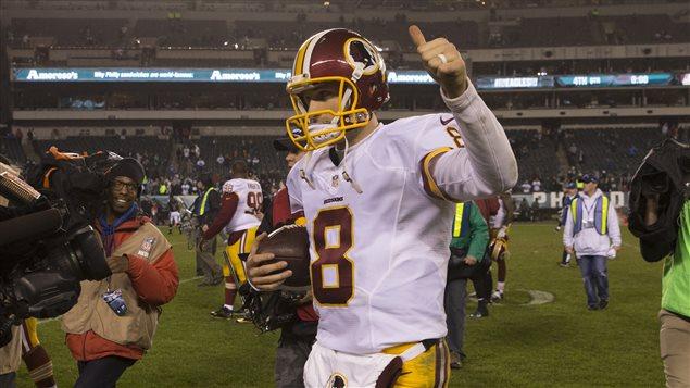 Kirk Cousins, le quart des Redskins