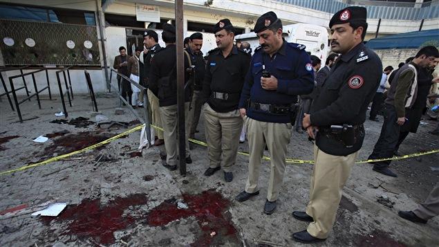 Un kamikaze s'est fait exploser au Pakistan le 29 décembre 2015.