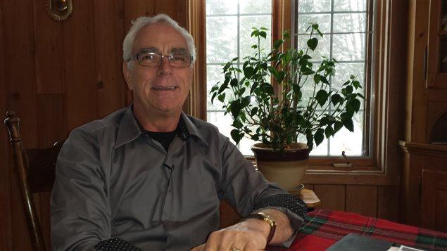 Michel Boilard, président du Comité d'accueil de la famille syrienne de Pont-Rouge
