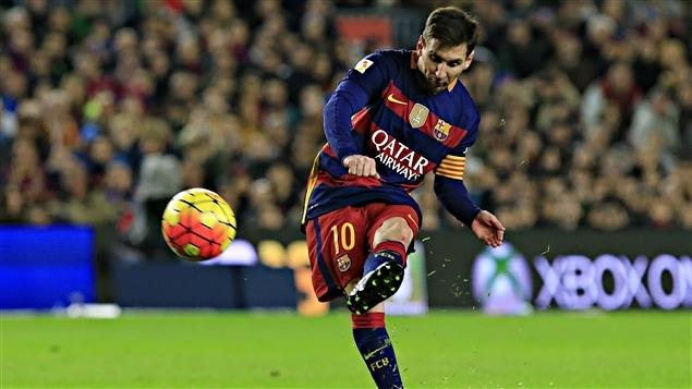 Lionel Messi dans son 500e match
