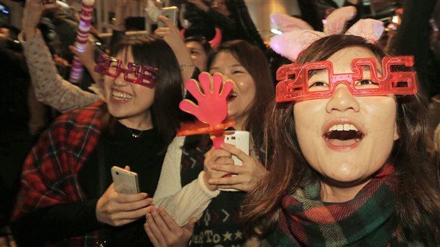 Festivités à Hong Kong