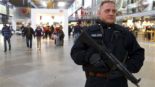 Une gare de Munich