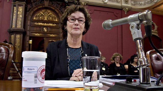 Louise Chabot, présidente de la CSQ