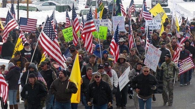 Un groupe d'hommes armés occupent un refuge national en Oregon.
