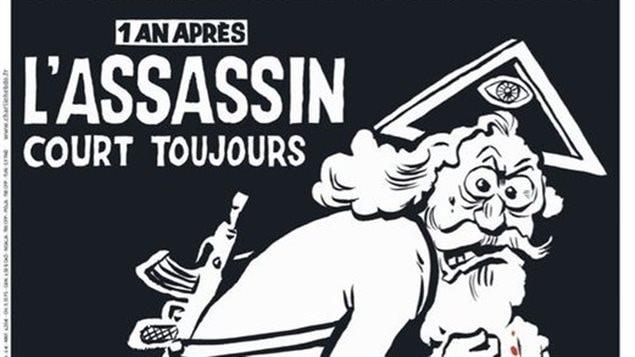 La une anniversaire de Charlie Hebdo