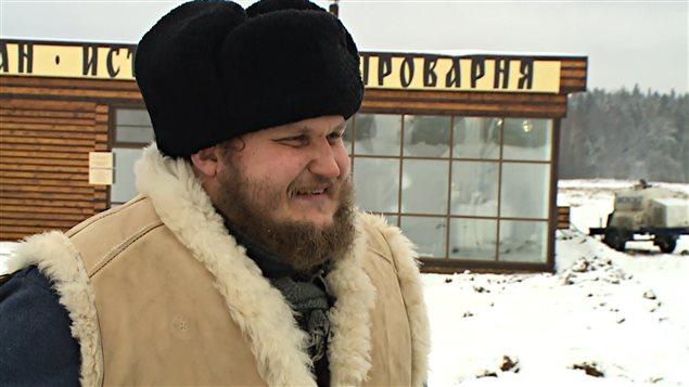 Oleg Sirota, maître fromager russe